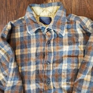 100% Virgin Wool Flannel | Womens SMALL
